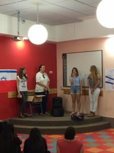 powitanie w szkole Shaar haNegev