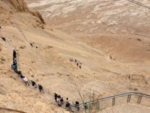 snake path z Masady